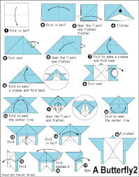 Butterfly 2 Easy Origami Instructions For Kids