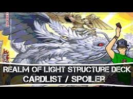 Lightsworn Structure Deck Full List by Yugioh Realm Of Light Structure Deck Card List Spoiler Youtube