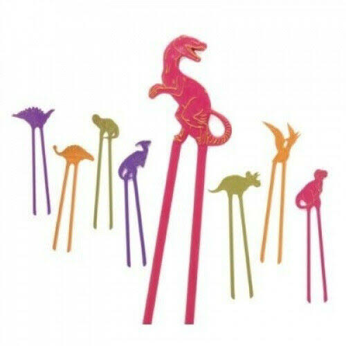 Hog Wild Dino Chopsticks Party Set - 8pcs