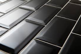 gorgeous black subway tile black subway tiles design 16