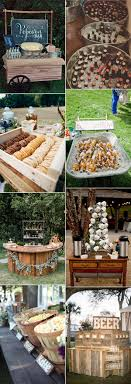 Outdoor Wedding Food And Drink Ideas For Reception