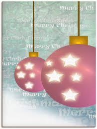 artland wandbild weihnachtskugel weihnachten 1 st in vielen größen produktarten alubild outdoorbild für den außenbereich leinwandbild