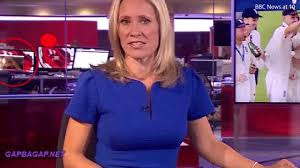 Funny GIF Of BBC Worker Having Fun On Live TV