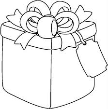 Gift Coloring Pages 3