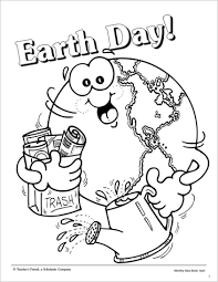 Coloring Pages Earth Day 50 In 2017