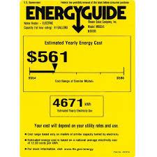 Rheem Marathon Water Heater Energy Guide