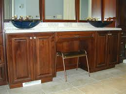 Master Bathroom Vanity With Makeup Area by Jensen U2013 Master Bath Remodel Design For Interiors