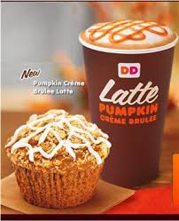Dunkin Donuts Pumpkin Muffin 2017 by 9 Pumpkin Flavored Delights Coming To Dunkin Donuts