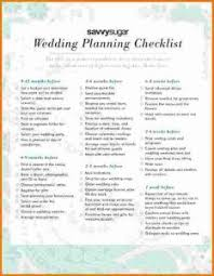 Simple Wedding Checklist Planning