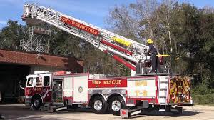 100 New Fire Trucks Gainesville Rescue Dedicates YouTube