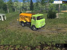 100 Fertilizer Truck IFA W50 FERTILIZER TRUCK V 10 Farming Simulator 2015 Mods