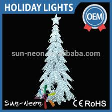 Led Candle Light Giant Christmas Tree Outdoor Lighted Twig Artificial