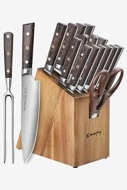 Kitchen Knive Set Farberware Colourworks 12 Resin Stick Resistant Knife Set
