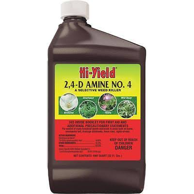 Hi-Yield 2.4-D Amine No. 4 Weed Killer - 32oz