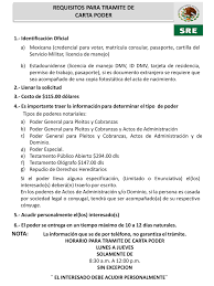 Consulado Mexicano Carta Poder Wwwimagenesmycom