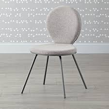 Crate And Barrel Leaning Desk White by Kids Grey Upholstered Desk Chair The Land Of Nod