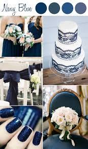 Shades Of Navy Blue Wedding Color Ideas