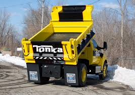 Mighty Ford F-750 TONKA Dump Truck Is Ready For Work Or Play