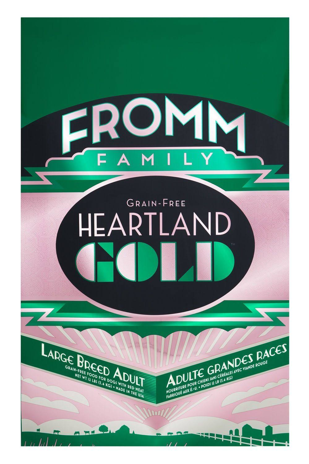 Fromm Prairie Gold Dog Food - Large Breed, Dry, 12lb