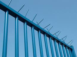 The Drawing Of Anti Climb Fence Installation Including Fence Spikes Viper Spike Anti Climb Fence Solution