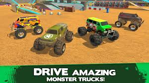 100 Monster Truck Simulator Driver SportsGamesiosRacing Game