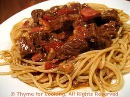 Corsican Beef And Pasta