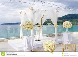 100 Cape Sienna Thailand Wedding Arch Flower Floral Decoration Ocean And Mountain View