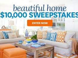 Homes & Gardens $10 000 Sweepstakes