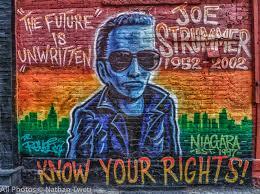Joe Strummer Mural Address by The Future Is Unwritten Nathan Tweti