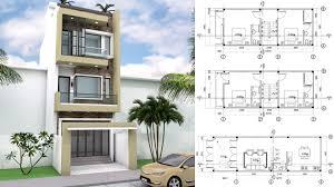 100 Narrow House Designs 45x11m Home Lot Design SaM ArchitecT