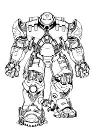 Lego Hulkbuster Coloring Pages Ideas