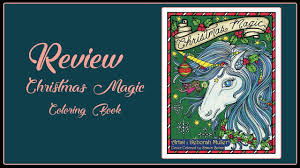 Christmas Magic Coloring Book By Deborah Muller