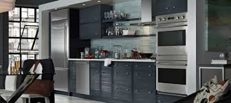 Nice Gray Cabinets Single Wall One Galley Kitchen Design Most Popular Layout And Floor