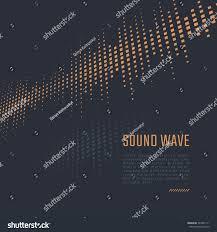 Vector Equalizer Background Music Poster Sound Wave