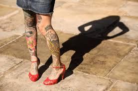 Leg Tattoo Designs Coolest Tattoos For Girls