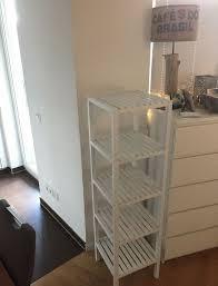 ikea badezimmer molger holz regal weiß küche wohnzimmer schrank