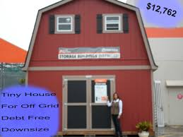 12x24 Shed Floor Plans by 2 Floor Shed House For Debt Free Living With Plenty Of Space Under