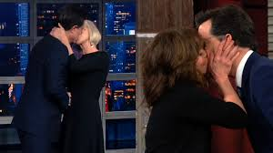 Paul Stephen Rudd Halloween 6 by Stephen Colbert U0027s Wife U0027s Reaction To Recent Kissing Spree Video