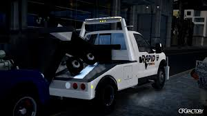 100 Gta 4 Tow Truck Ford F550 Truck QuotRapid Ingquot PJ Download CFGFactory