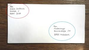 15 Absender Im Brief Appicationletter