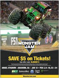 Monster Jam Coupon Code Monster Jam Crush It Playstation 4 Gamestop Phoenix Ticket Sweepstakes Discount Code Jam Coupon Codes Ticketmaster 2018 Campbell 16 Coupons Allure Apparel Discount Code Festival Of Trees In Houston Texas Walmart Card Official Grave Digger Remote Control Truck 110 Scale With Lights And Sounds For Ages Up Metro Pcs Monster Babies R Us 20 Off For The First Time At Marlins Park Miami Super Store 45 Any Purchases Baked Cravings 2019 Nation Facebook Traxxas Trucks To Rumble Into Rabobank Arena On