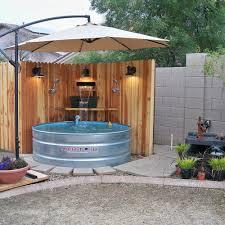 Galvanized Stock Tank Bathtub by 3 Steps To Set Up A Stock Tank Pool U2014 Stock Tank Pools