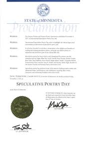 International Speculative Poetry Day Seeks To Highlight The Vibrant Legacy And Extraordinary Achievement Of Poets