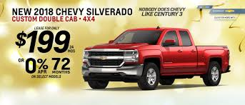 Century 3 Chevrolet Current Promotions For Pittsburgh Drivers