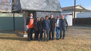 Tuff Shed Inc Linkedin by Teen Fighting Brain Tumor Surprised With His Own Tiny House Ktvb Com