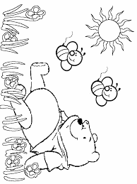 Winnie The Pooh Birthday Coloring Pages Tattoo