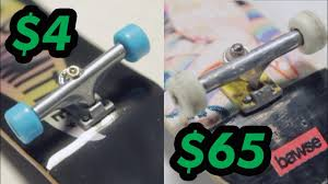 32MM TECHDECK VS FINGERBOARD TRUCKS - YouTube