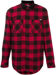 100 Carhart On Sale Red And Black Cotton Checked Shirt From T Men Shirts