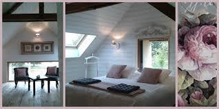 chambre d h e romantique de nuit cabane gîte la bourousais maure de bretagne