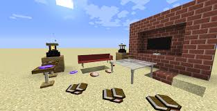 furniture in vanilla minecraft with link commands command